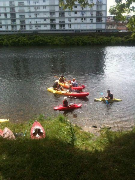 Initiation-canoe
